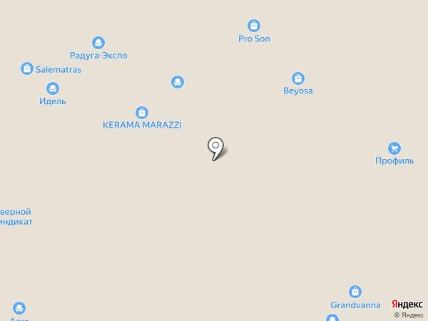 Модуль на карте Уфы