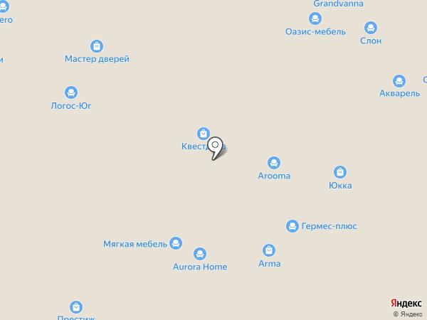 Ostium на карте Уфы