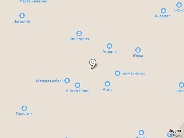 Архитектор на карте Уфы