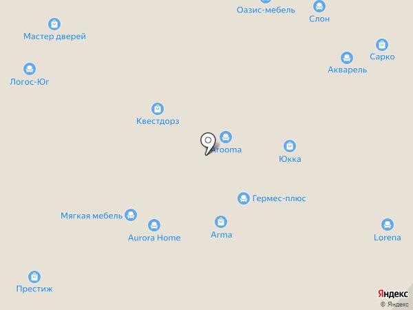 Альфа-Трейд на карте Уфы