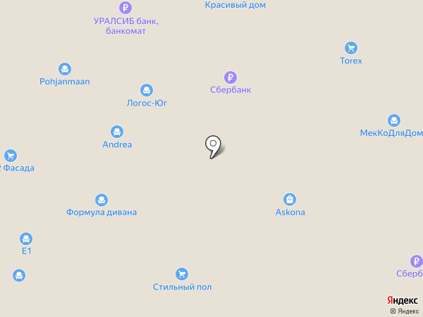 Фабрика Мирлачева на карте Уфы