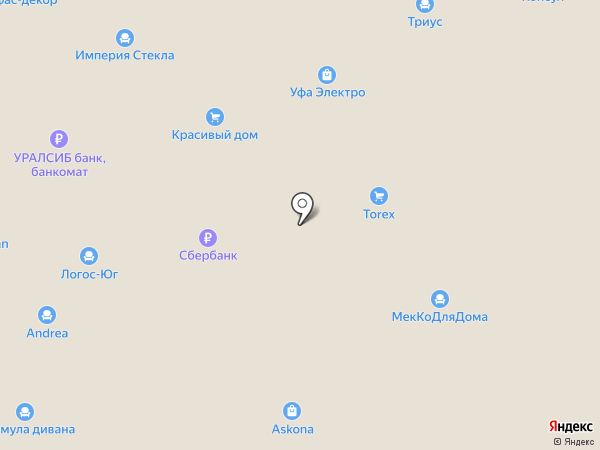 ЭФПРОМ на карте Уфы