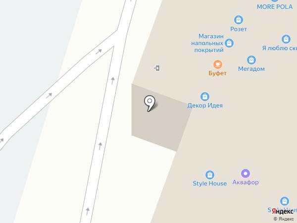 Стильный пол на карте Уфы