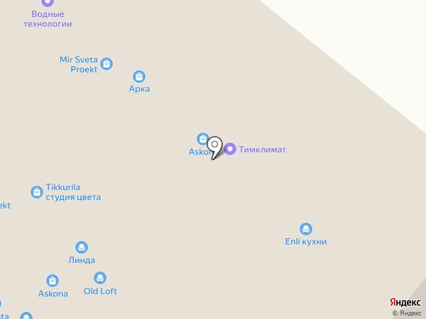 Ижмебель на карте Уфы