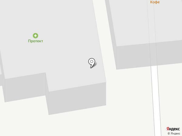Компания по доставке бетона на карте Перми