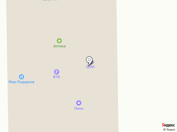 Авто на карте Гамово