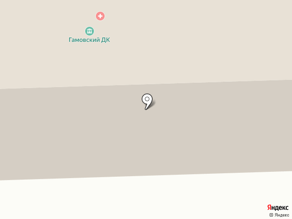 Дом культуры на карте Гамово