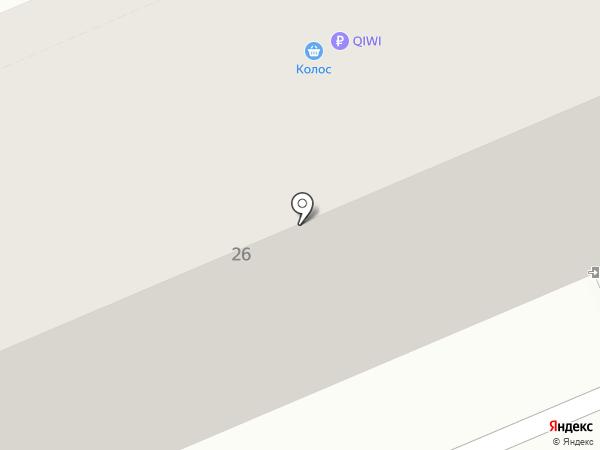 Колос на карте Уфы
