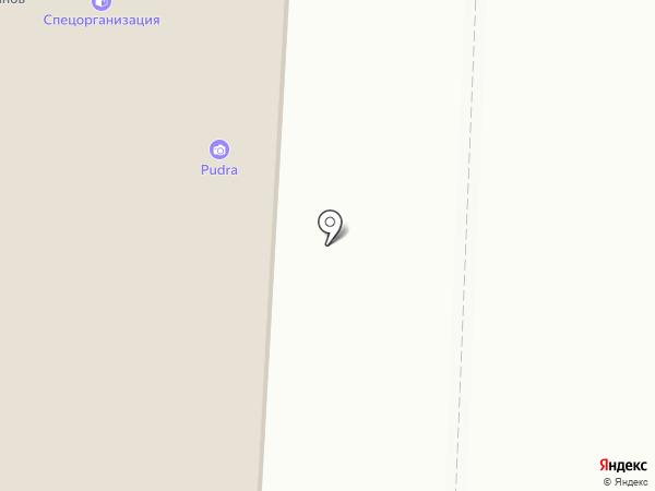 Маски на карте Кондратово