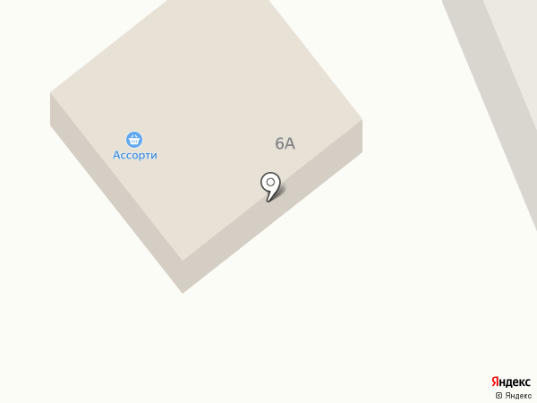 Продовольственный магазин на карте Кондратово