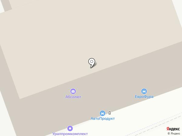 Автопродукт на карте Перми