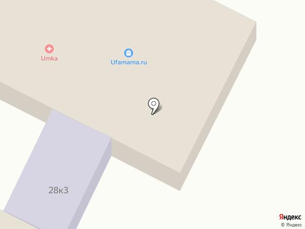 Кот Сфинкс на карте Уфы