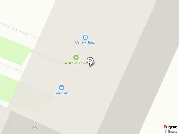 Байлык на карте Уфы