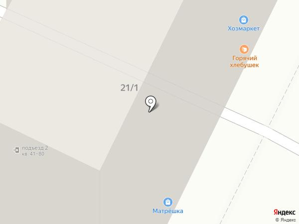 Радужный на карте Уфы