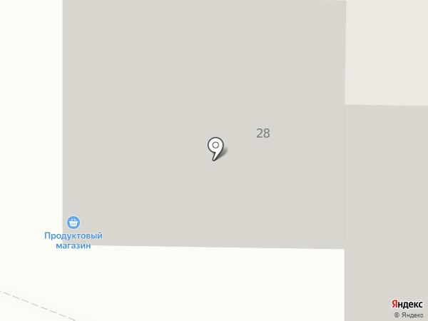 Екатерина на карте Уфы