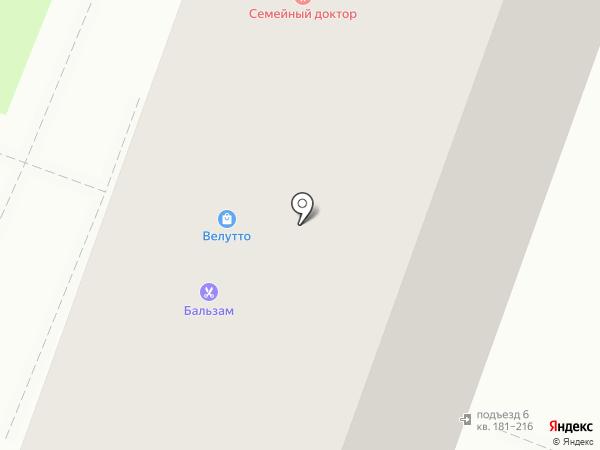 Веллуто на карте Уфы