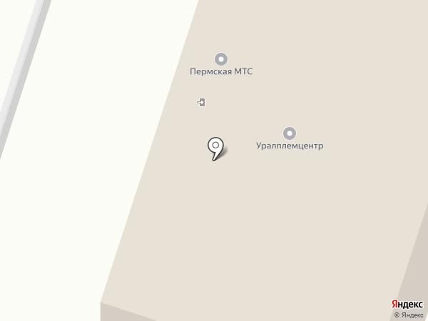 Буматика на карте Перми