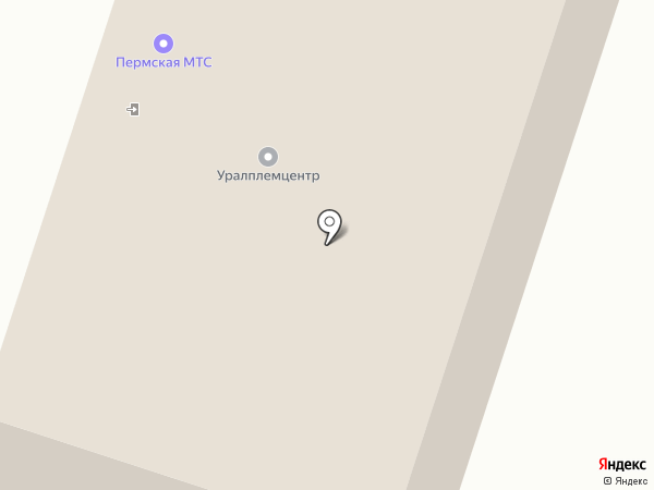 Урал Металл на карте Перми