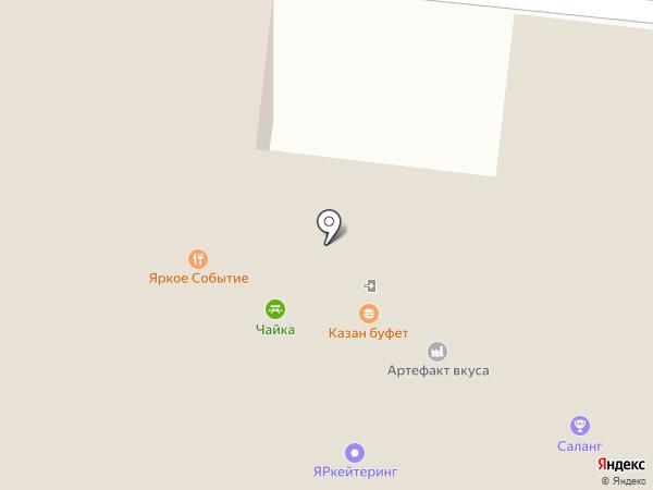 Контактная мини-ферма на карте Перми