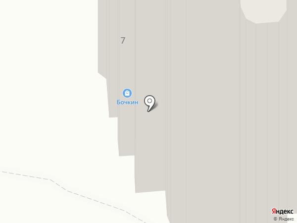 Янтарный на карте Уфы