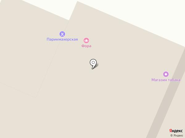 Парикмахерская на карте Перми