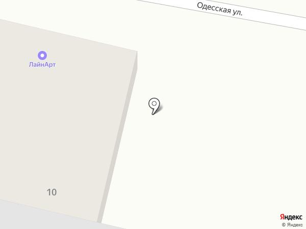 Лайнарт на карте Уфы