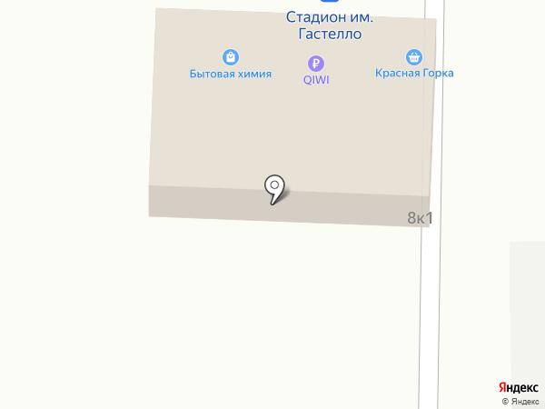 Красная горка на карте Уфы