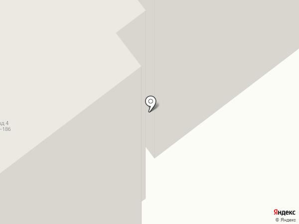 Шоссе Космонавтов 166г на карте Перми