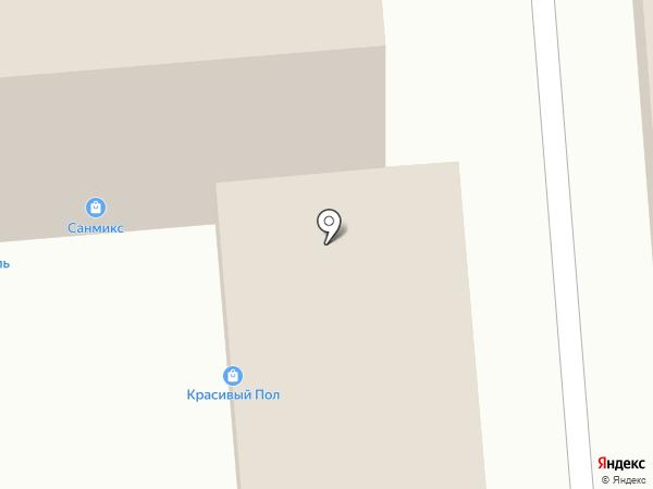 Санмикс на карте Перми