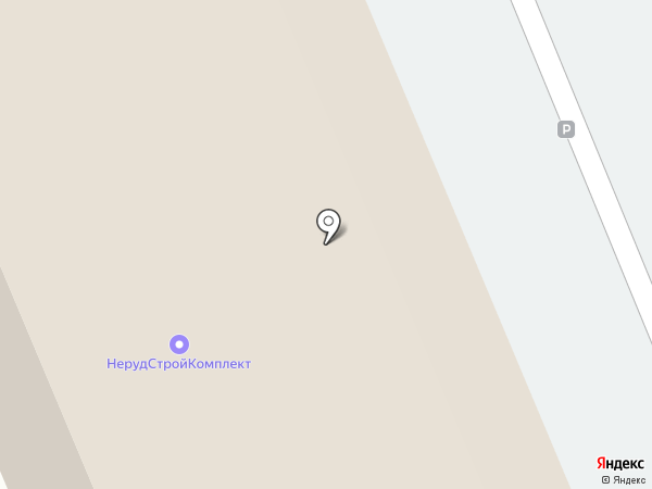 Брусдоскапермь на карте Перми
