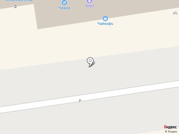 Банана на карте Перми