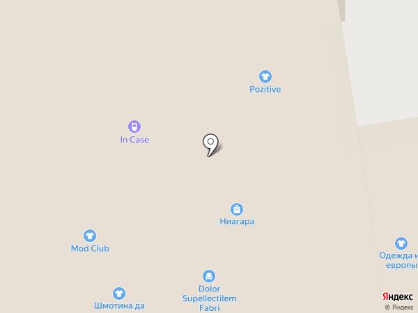 Мирабелла на карте Перми