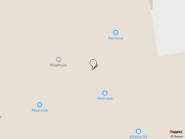 Ниагара 44 на карте Перми