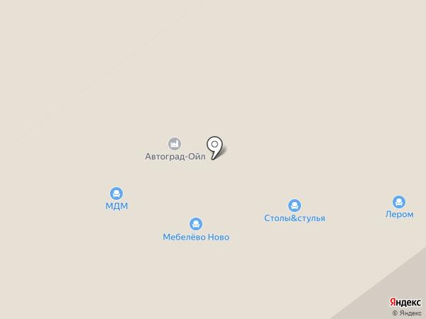 Диваж на карте Перми