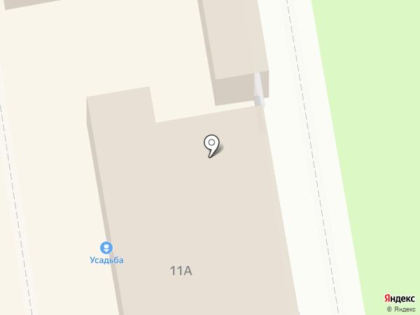 Киоск по продаже фруктов и овощей на карте Перми