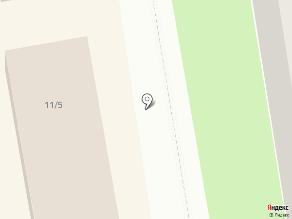 Кунгурский на карте Перми