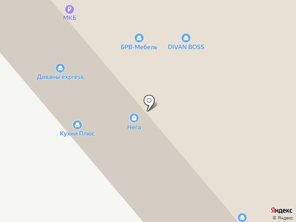 Мебель Урала на карте Перми