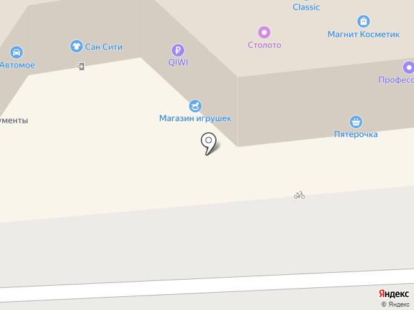 Тортолино на карте Перми