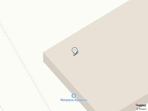 Магазин матрасов и кроватей на карте Перми