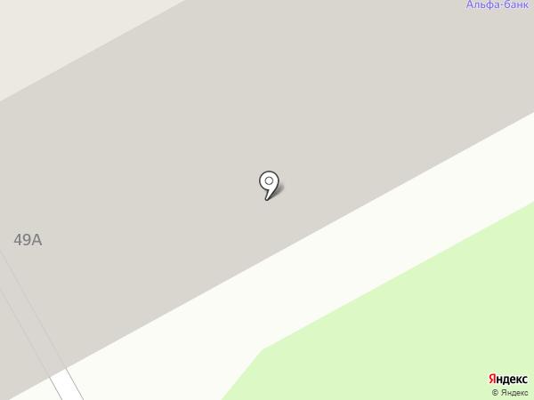 Магазин товаров для творчества на карте Перми