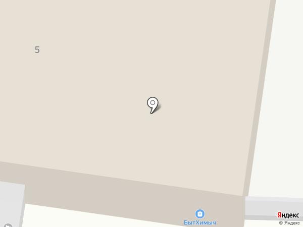 Автогрузовоз на карте Перми