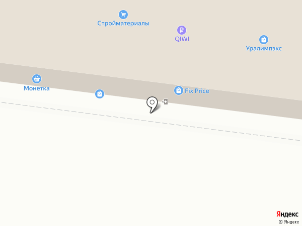 Нэко на карте Перми