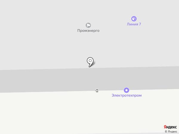 ЭЛЕКТРОТЕХПРОМ на карте Перми