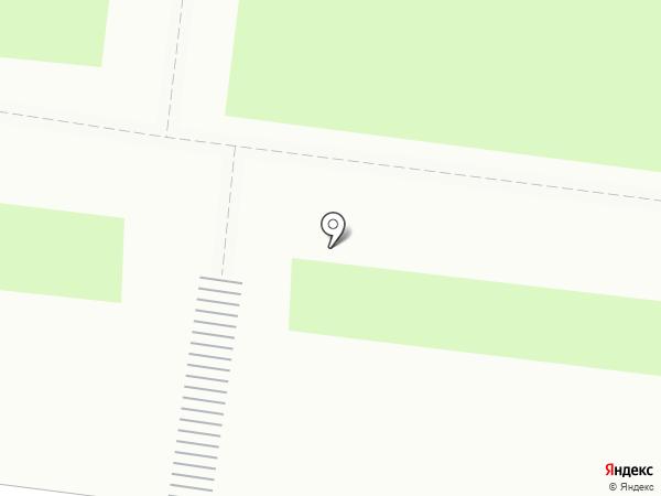Красная роза на карте Перми