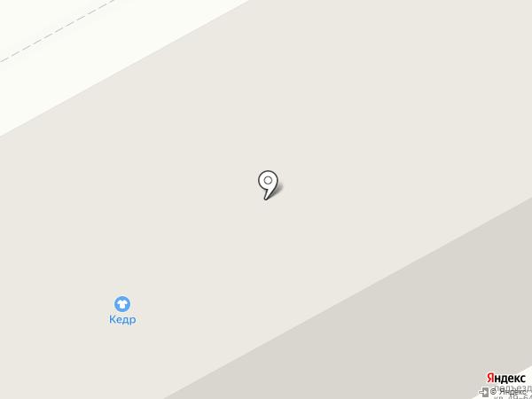 Магазин тканей на карте Перми