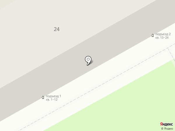 Продуктовый магазин на ул. Леонова на карте Перми