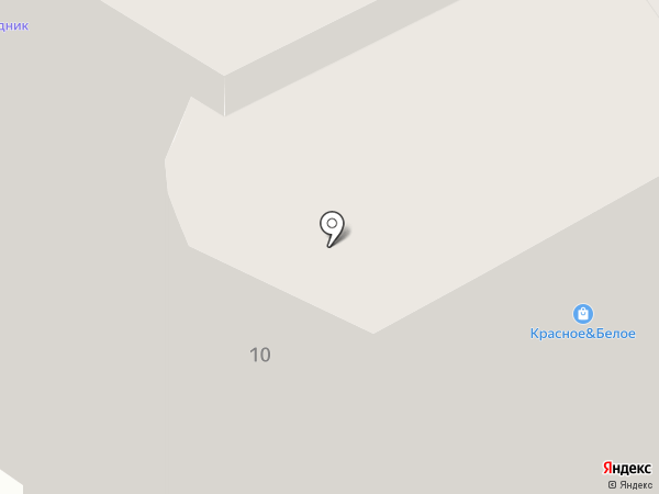 Узмарком на карте Перми