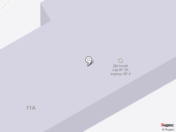 Детский сад №140 на карте Перми