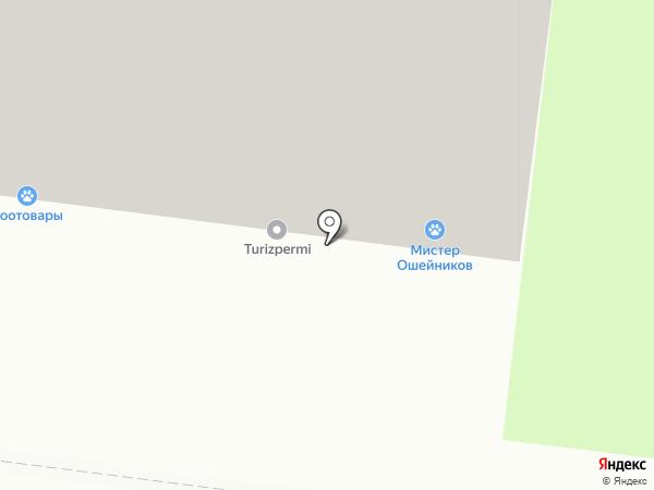 Консиб-Пермь на карте Перми