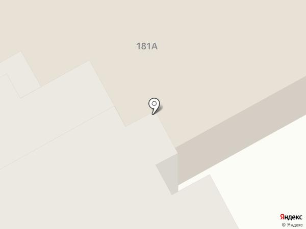 Столовая на шоссе Космонавтов на карте Перми